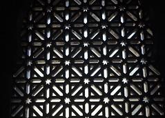 Cordoba (Hans van der Boom) Tags: vacation holiday spain andalucia cordoba lattice trellis dark backlight wood black es