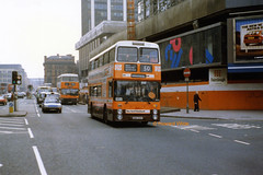 G M Buses 8651 (ANA 651Y) (SelmerOrSelnec) Tags: gmbuses leyland atlantean northerncounties ana651y manchester portlandstreet 50 routebranding bus greatermanchesterpte greatermanchestertransport gmt gmpte