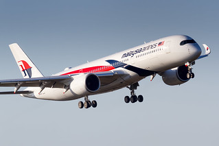 9M-MAD Malaysia Airlines Airbus A350-941
