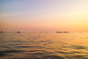 Waiting for Sunset (preze) Tags: tonlesap siemreapprovince cambodia kambodscha südostasien boot boat wasser water see sunset sundown sonnenuntergang abend evening orange lake himmel