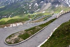 Serpentine Road to the Edelweißspitze at the Großglocknerhochalpenstraße, Austria (OnTheRoadAgainBlog) Tags: alps road roads mountainroad serpentine grosglocknerhochalpenstrase mountains canon 24mm austria alpen