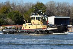 Tugboat Savannah (Jimmie Fisher) Tags: tugboatsavannah crescenttowingcompany tugboat savannahgeorgia savannahriver