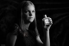 Gucci Bloom Mono (Silver Machine) Tags: portrait headshot makeup lifestyle redhair perfume gucci guccibloom girl onelightportrait softbox cactusrf60x cactusv6ii fujifilm fujifilmxt10 canonfd85mmf18