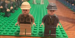Confederate soldiers (Brendan Helms) Tags: american southern south minifigure minifig model battle infantry civilwar americancivilwar war history military lego
