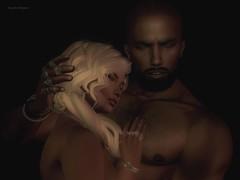 Hold Me (jaquelinjolifaunt) Tags: avatar erotik erotic secondlife second mesh life light lights licht couple love