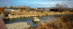 recla12mm31_1024w (Chuckcars) Tags: colorado montrose usa uncompaghre river relca metals scrap low water winter