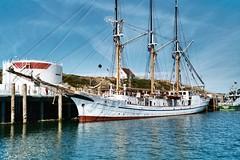 Dreimaster im Hafen von Hörnum auf Sylt (frankhoven) Tags: meer schiffe dreimaster hörnum hafen sylt