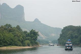 Crucero fluvial - China