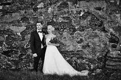 Gerður & Matti (LalliSig) Tags: iceland summer wedding photographer brúðkaup brúðkaupsljósmyndari grindavík portrait portraiture people black white gray ruin