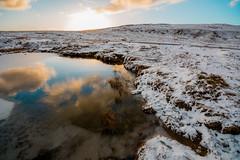 black mountain (dyndalski) Tags: brecon beracon west wales sunset snow swansea rock swamp
