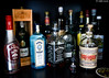 17/28-18 : Il faut varier les plaisirs ! (odilecuvit) Tags: alcool collection plaisir varier variété collectionner boire boisson drink alcohol rhum malibu whisky porto