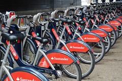 Santander (PD3.) Tags: santander bike bikes borisbike boris london bus buses england uk sight seeing sightseeing southbank
