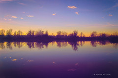 reflections (Monica Muzzioli) Tags: landscape water reflections blue clouds