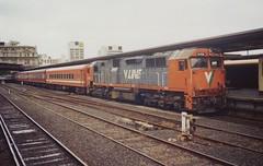 N456 Spencer St (tommyg1994) Tags: west coast railway wcr emd b t x a s n class vline warrnambool geelong b61 b65 t369 x41 s300 s311 s302 b76 a71 pcp bz acz bs brs excursion train australia victoria freight fa pco pcj