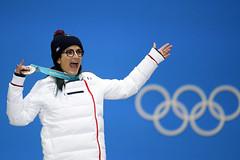 Ski acrobatique - Halfpipe femmes (France Olympique) Tags: 2018 coree games jeux jeuxolympiques jo korea olympic olympicgames olympics olympiques podium pyeongchang silvermedal south sport sud victoryceremony winter coréedusud