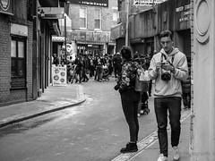 Chinatown, NYC (Will.Mak) Tags: people chinatown newyorkcity newyork nyc manhattan street streetphotography olympus omd em1 mark ii blackandwhite bw monochrome noir olympusem1markii olympusm40150mmf28 em1markii m40150mmf28 40150mm f28 40150mmf28