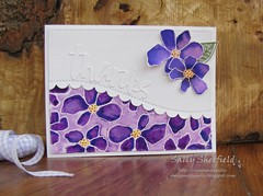 violet thanks (sally_sherfield) Tags: simonsays sssflickrchallenge91 diecut thankyou zigmarkers