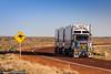 Road Train, Outback, Australia (Manuel ROMARIS) Tags: australia roadtrain kangaroo road sign outback mountwilloughby southaustralia au