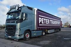 DSC_0007 (richellis1978) Tags: truck lorry haulage transport logistics cannock peter transoporte volvo fh fh4 slovakia sk le111aj