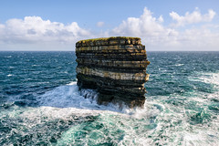 """Dun Briste Sea Stack"" - Downpatrick Head (Gareth Wray - 10 Million Views, Thank You) Tags: sea ocean coast strand seascape scape county reflection ireland irish rocks nature natural horizon tourist cliffs scenic waves atlantic arch stack summer visit cliffscape nikon d5300 gareth wray strabane way sky nikkor lens photographer head dun briste ballycastle famous downpatrick wonder down patrick saint mayo sun wild tourism set sunset 1024mm vacation peninsula erosion holiday europe day"