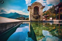 tanque de agua (Jose L. Ruiz) Tags: guatemala agua antiguaguatemala a6000 colonial estilo antiguo old water sunny soleado mountains montañas