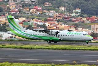 EC-KYI ATR-72 @ Tenerife North, 23rd February 2018