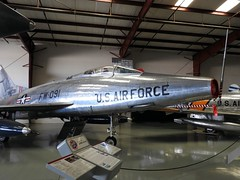 "North American F-100C-25 Super Sabre 1 • <a style=""font-size:0.8em;"" href=""http://www.flickr.com/photos/81723459@N04/40556506721/"" target=""_blank"">View on Flickr</a>"