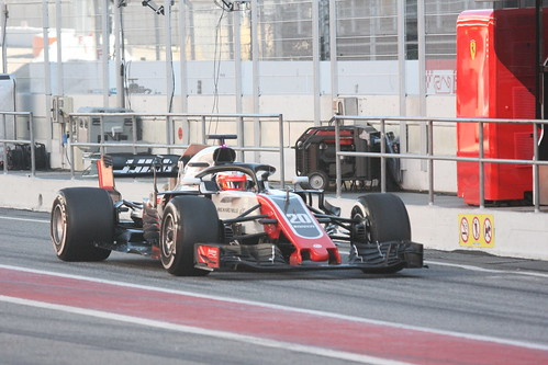 Kevin Magnussen in Formula One Winter Testing 2018