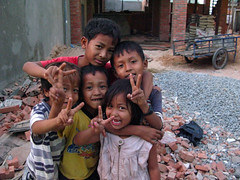 clowning around (geneward2) Tags: kids children siem reap cambodia