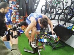 David Huertas triatlón Indoor team clavería triatlón World 2