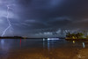 Almost got away.. (e0nn) Tags: steveselbyphotography steev steveselby pentax pentaxk1 ricoh illawarra windang longexposure shellharbour lakeillawarra lake storms lightning weather nocturnal night hdpentaxdfa2470mmf28edsdmwr