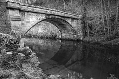 Calm Lowther... (CamraMan.) Tags: askham bridge cumbria penrith mono monochrome riverlowther canon6d canon1740mmlusm still quiet ©davidliddle ©camraman