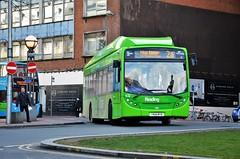Lime 432 (stavioni) Tags: adl alexander dennis enviro 300 single deck decker bus reading buses transport lime 432 yn14myb
