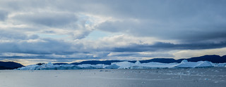 Cruising along in Disko Bay