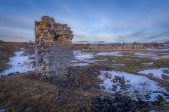 Crown Point Fort (Timur Dzhambinov) Tags: pentax k1 dfa 1530 sunset fort color landscape winter evening ruins history sky clouds