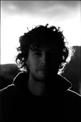 Portrait (Rachelnazou) Tags: caffenol blackwhite analog argentique