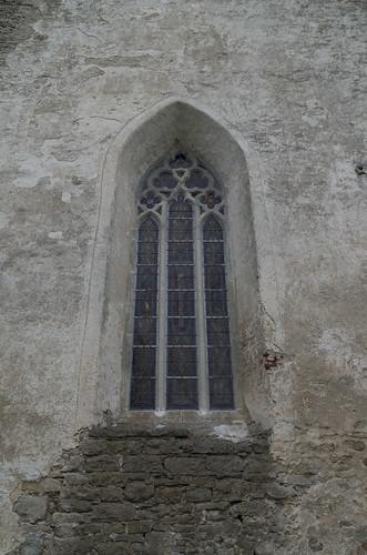Pöide Maarja kiriku vitraaž, 25.08.2017.