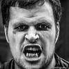 Teeth (FotoFling Scotland) Tags: 2015 arts edinburgh edinburghfestivalfringe royalmile august highstreet male performer promotion streetperformer streettheatre teeth fotoflingscotland