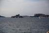 1N6A2235 iles du frioul et château d'if depuis le plateau de malmouske à Marseille. ( UNIXetvous ) Tags: sea sky water landscape stone boat marseille
