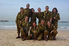 Israeli soldiers on the beach (Poupetta) Tags: idf soldiers beach telaviv