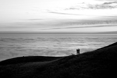 Romantic Interlude (gcquinn) Tags: astronomy bolinas california evening gazing geoff geoffrey hills marin night 1gq0092a quinn star stars sunset usa