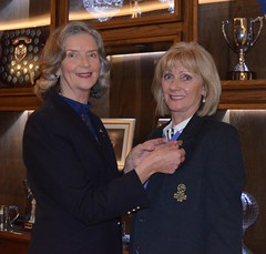 2018 Lady Captains Brooch Presentation