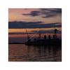 (giovdim) Tags: sea giovis greece ship hellenicnavy cruiser αβέρωφ night dock sunset reflections armored battleship