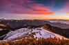 合歡山 (王宇信) Tags: 台灣 南投 合歡山 主峰 藍天 雪 夕陽 夕彩 日落 taiwan nantou sky snow sunset sony mountains winter hehuanshan view nightcolors a7ii a7m2 fe24240