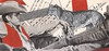 Cowboy Dominance - with Sabine (kurberry) Tags: collage collagecollaboration cutpaste vintageephemera cowboy jamesdean