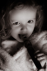 Snake Charmer (Wayne Cappleman (Haywain Photography)) Tags: wayne cappleman haywain photography farnborough hampshire portrait children baby toddler flute recorder penny whistle monochrome black white low key