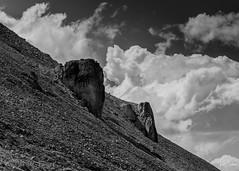 Beartooth Monoliths (Kent Copeland) Tags: blackandwhite bnw mountains clouds absaroka beartooth cody wyoming unitedstates