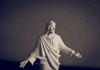 Portrait of a Different Variety (Captured by AMK) Tags: statue portraits jesus religion monochrome