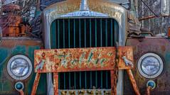 Robbie's Mack (jtr27) Tags: dscf6981xl jtr27 fuji fujifilm fujinon xtrans xf 35mm f2 f20 rwr wr robbie mack truck towtruck redstone newhampshire nh newengland rust oxidation corrosion patina