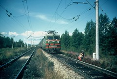 7e. Giving way to the regular trains on the Trans-Siberian railway